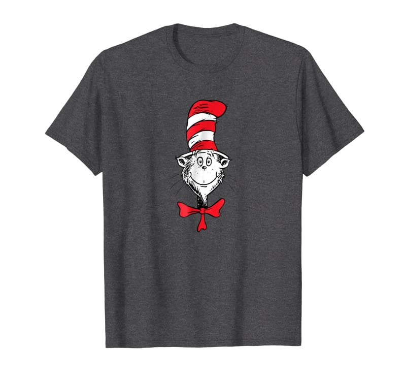 Dr. Seuss The Cat in the Hat Face T-shirt Gift Trending Design T Shirt