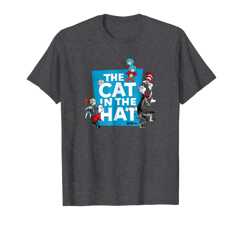 Dr. Seuss The Cat in the Hat Characters T-shirt Gift Trending Design T Shirt