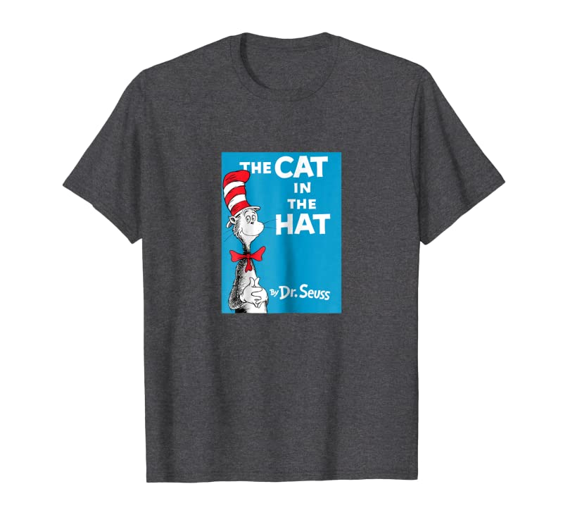 Dr. Seuss The Cat in the Hat Book Cover T-shirt Gift Trending Design T Shirt