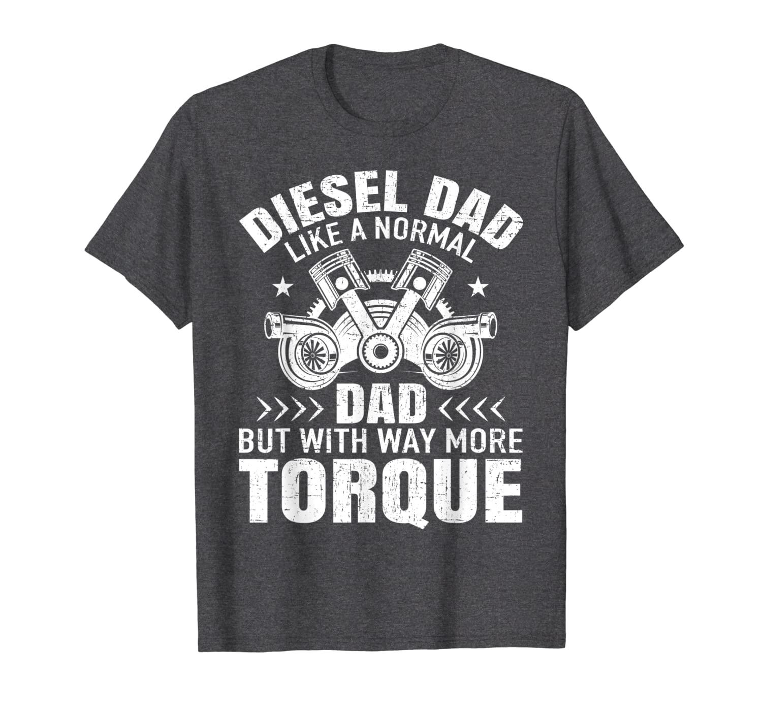 Diesel Mechanic Dad Automobile Fathers Day Funny Gift design T-Shirt-ANZ