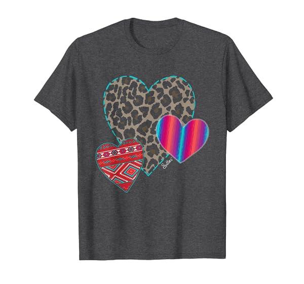 Valentines Hearts Tshirt T-Shirt