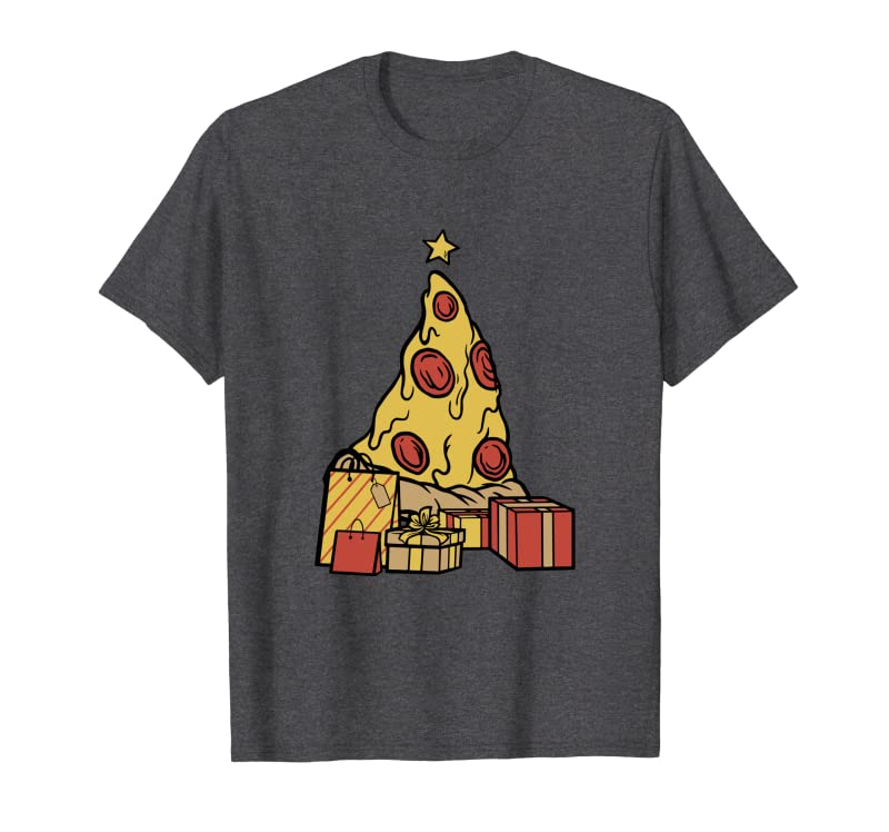 Pizza Merry Crustmas Christmas Men Women Pizza Xmas Tree Sweatshirt Gift Trending Design T Shirt