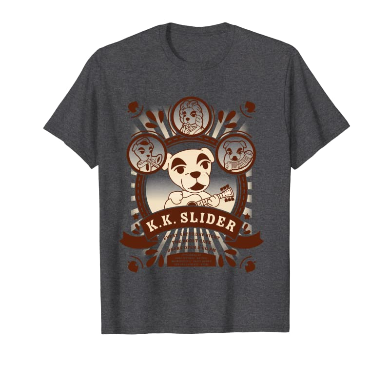 Animal Crossing K.K. Slider At The Roost Poster Long Sleeve T-Shirt Gift Trending Design T Shirt