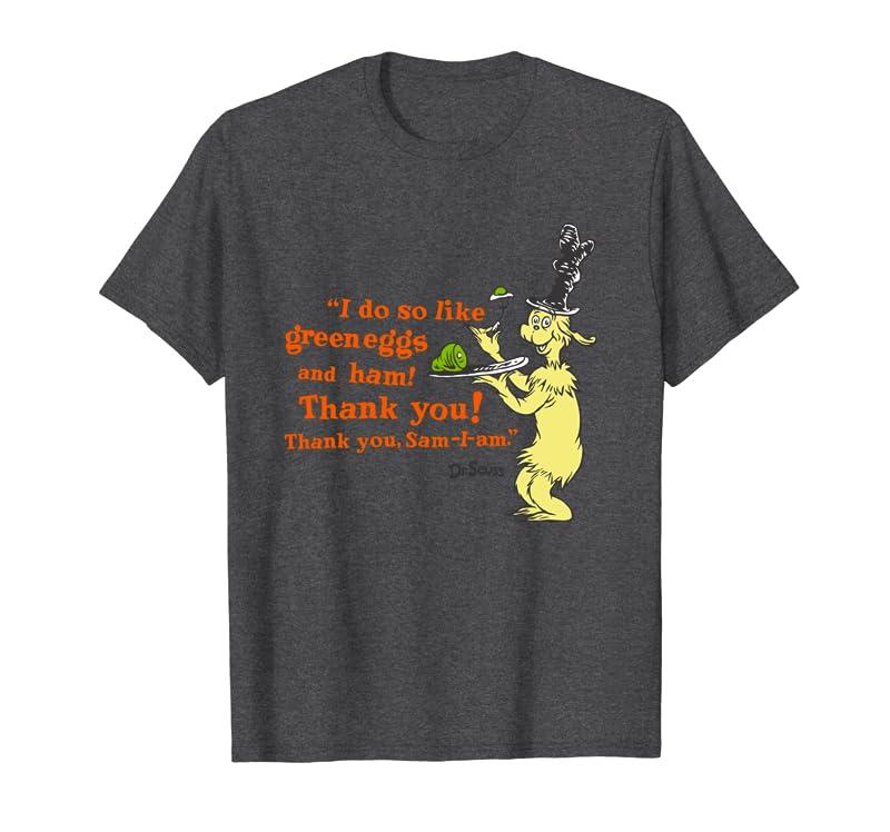 "Dr. Seuss Green Eggs and Ham ""I Do So Like"" quote Long Sleeve T-Shirt Gift Trending Design T Shirt"