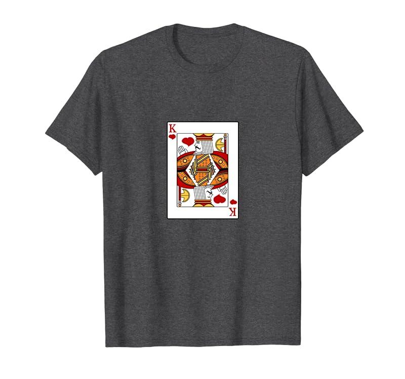 King of Hearts Playing Card Cute Dad Grandpa Nice Friend Sweatshirt Gift Trending Design T Shirt