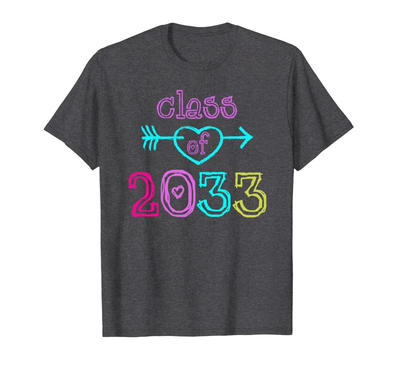 Arrow Class of 2033 Grow With Me, First Day – Back To School Sweatshirt Gift Trending Design T Shirt