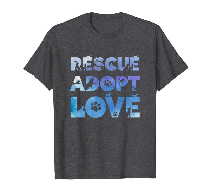 Cute Rescue Adopt Love Puppy Dogs for Men and Women Sweatshirt Gift Trending Design T Shirt