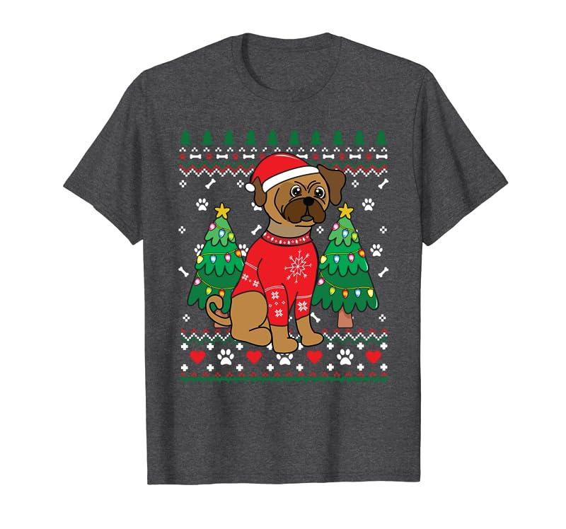Puggle Christmas Ornament Tree Mom Dad Xmas Gift Sweatshirt Gift Trending Design T Shirt