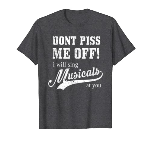 BROADWAY MUSICALS Gift Theatre Love Actor Actress T-Shirt