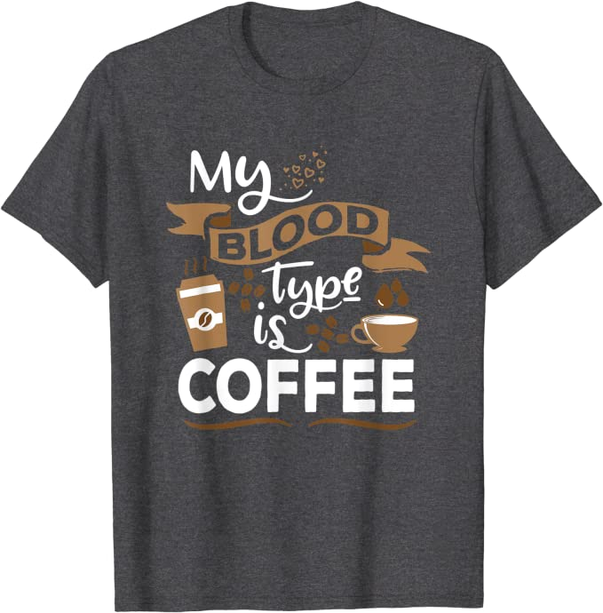 Coffee Blood Type Topper