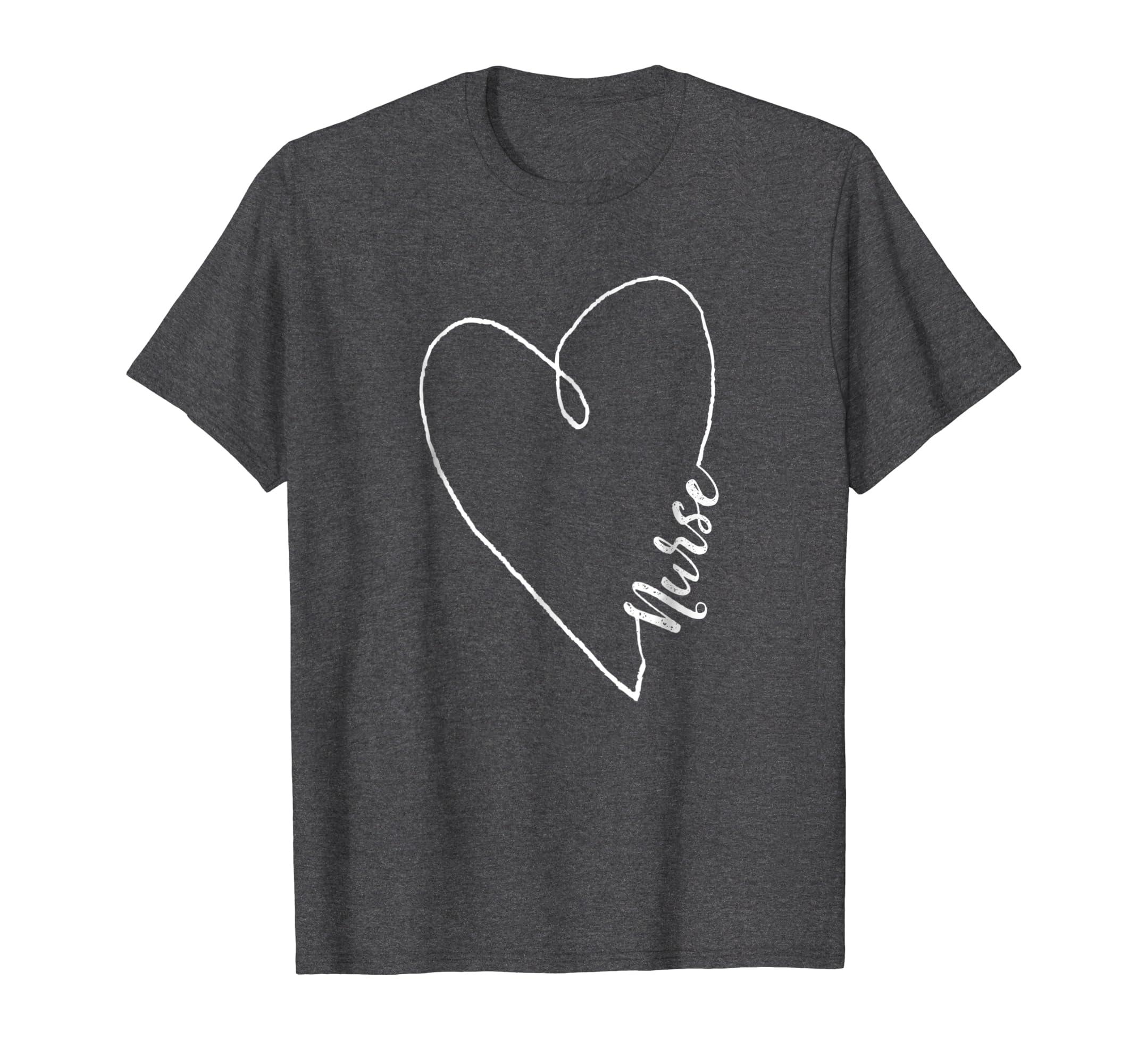 Nurses Week Shirt Heart Light Gift-Awarplus