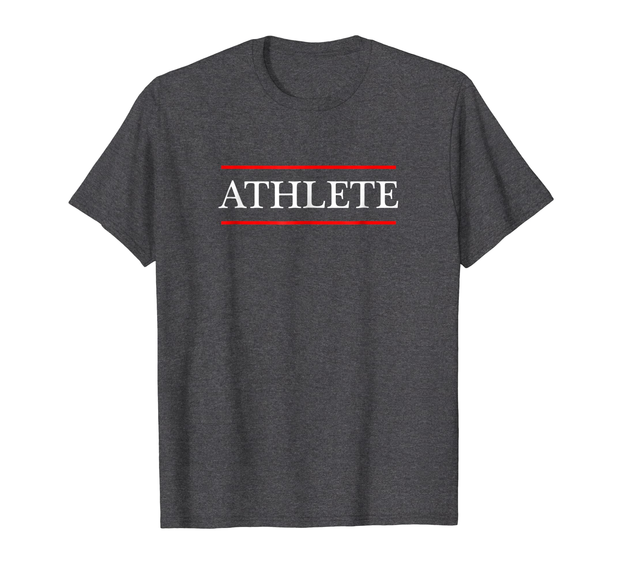 T Shirt that says the Word   ATHLETE on it | Adult Youth-azvn