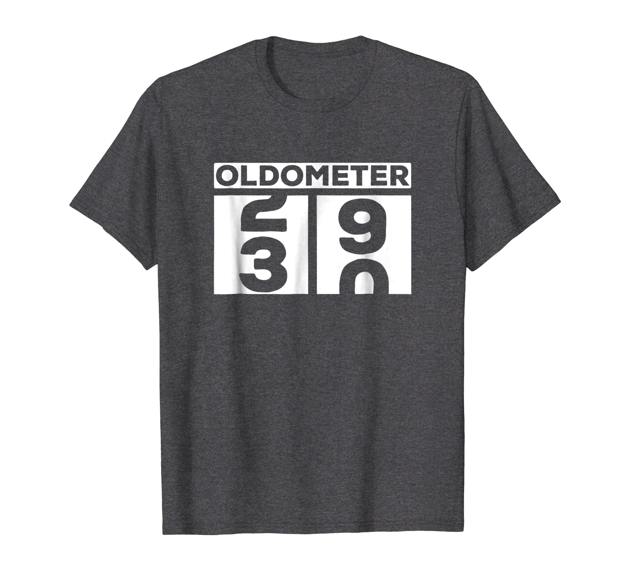 Funny Oldometer T shirt for 30th birthday counting Tee-Teesml