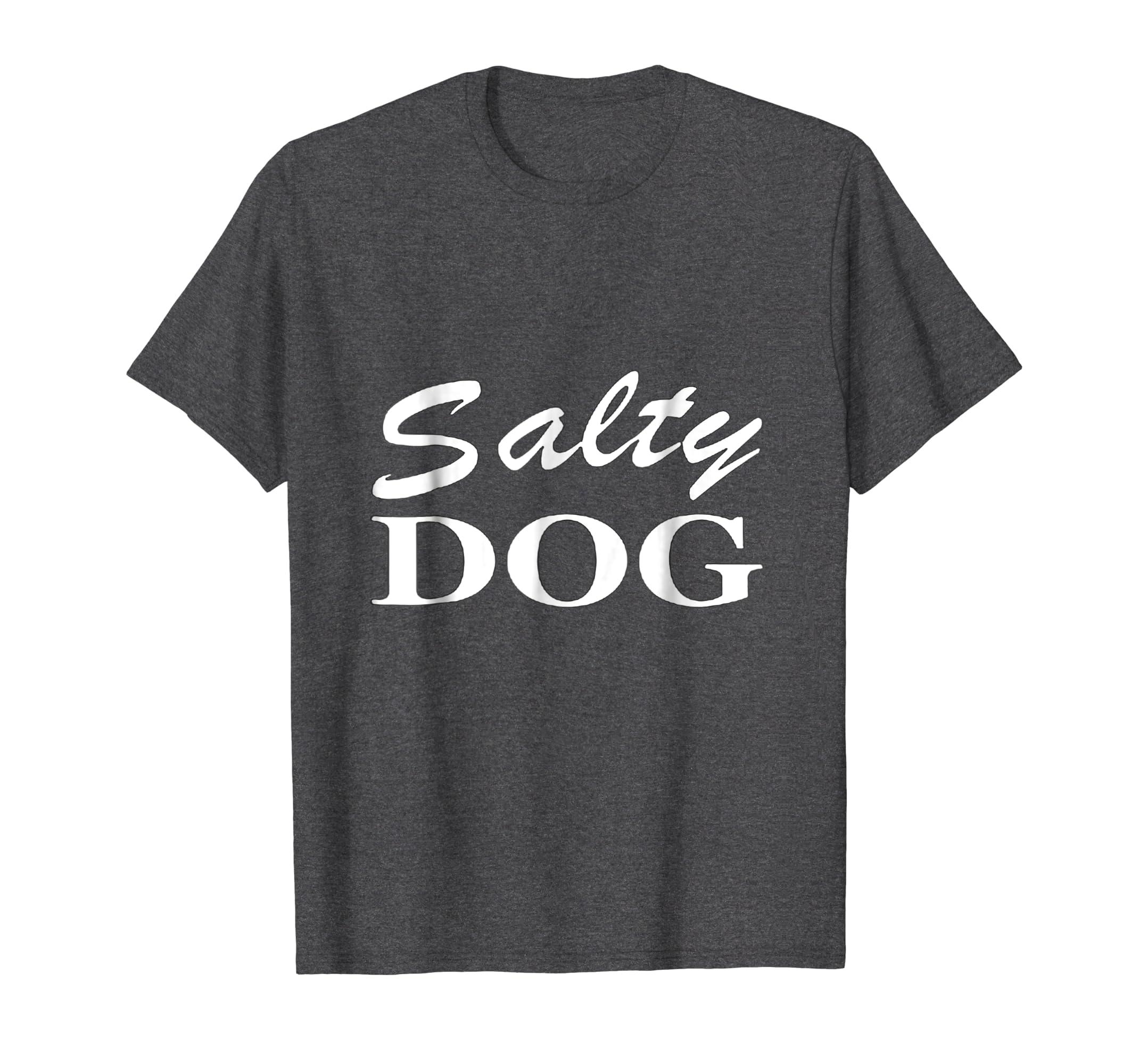 'Salty DOG' Retro Vintage Cool T Shirt-Newstyleth