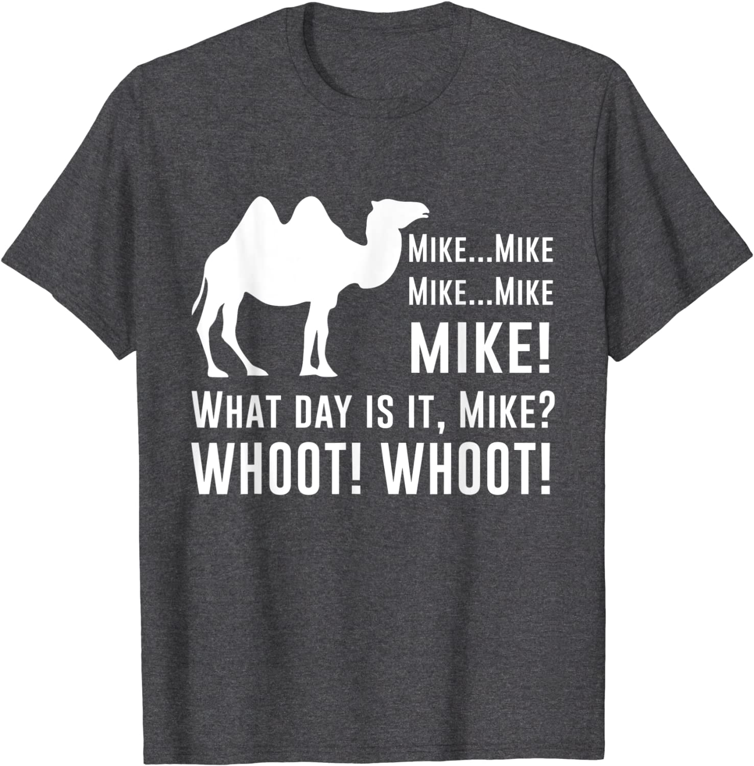 Amazon Com Funny Cute Camel Quotes About Hump Day Funny Quote T Shirt T Shirt Clothing
