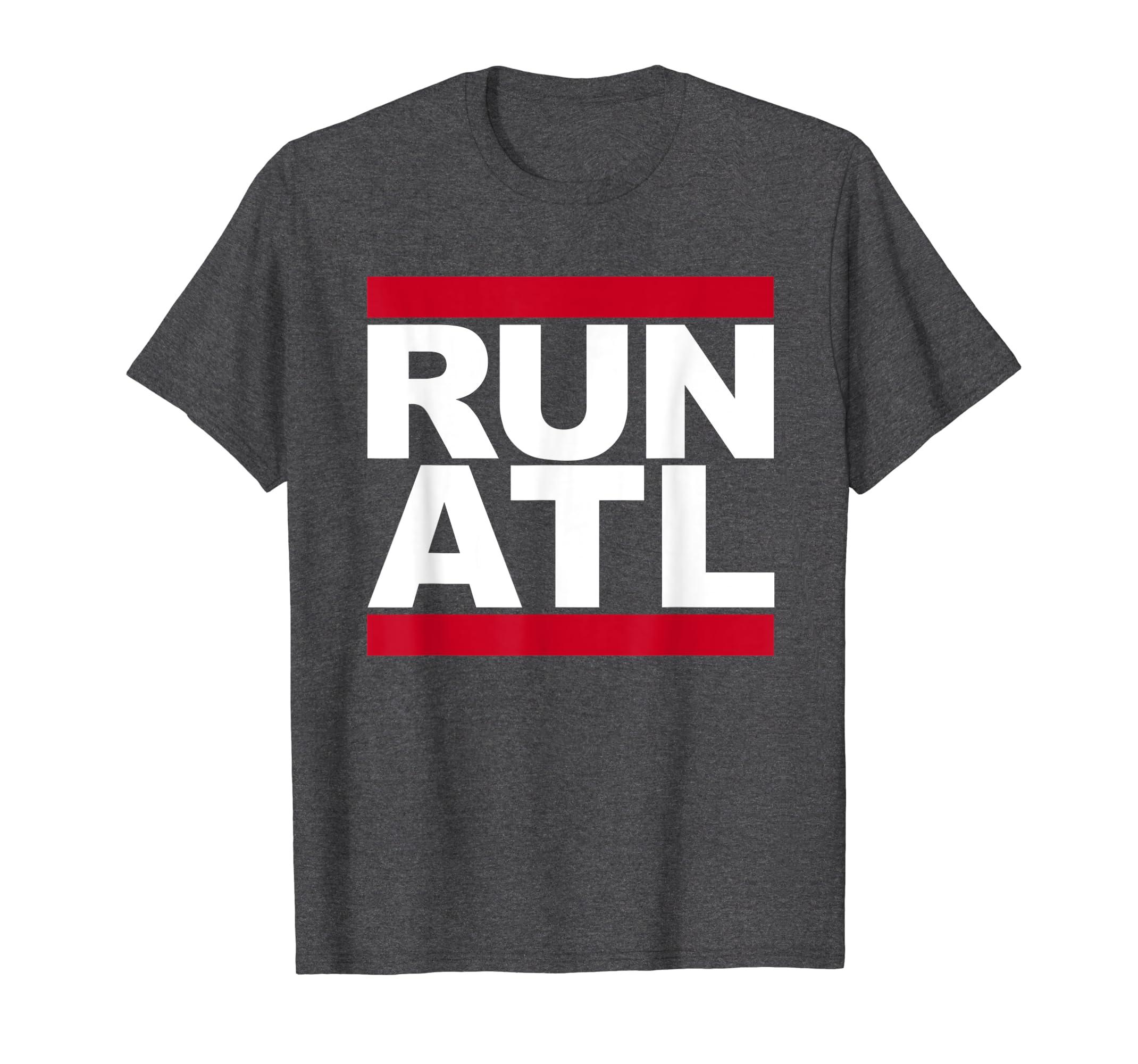 9ddd8efe Amazon.com: Run ATL T-Shirt - Atlanta Running Shirt for Runners: Clothing
