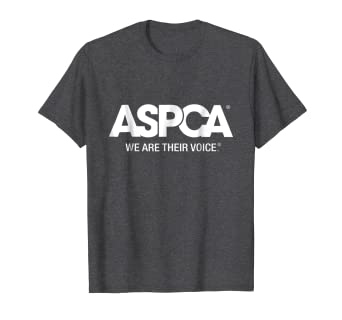 ca57991aa0 Image Unavailable. Image not available for. Color  ASPCA We Are Their Voice  Logo T-Shirt Heather