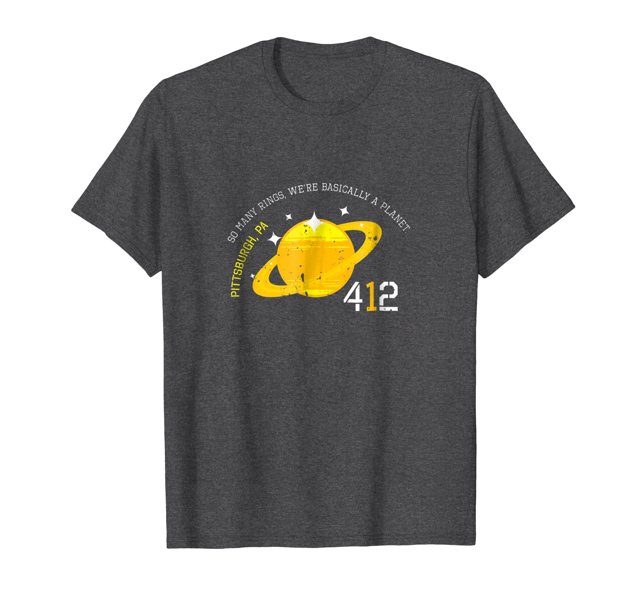 e79edde73 Amazon.com: Pittsburgh Tshirt Pittsburgh Should be a Planet T Shirt:  Clothing