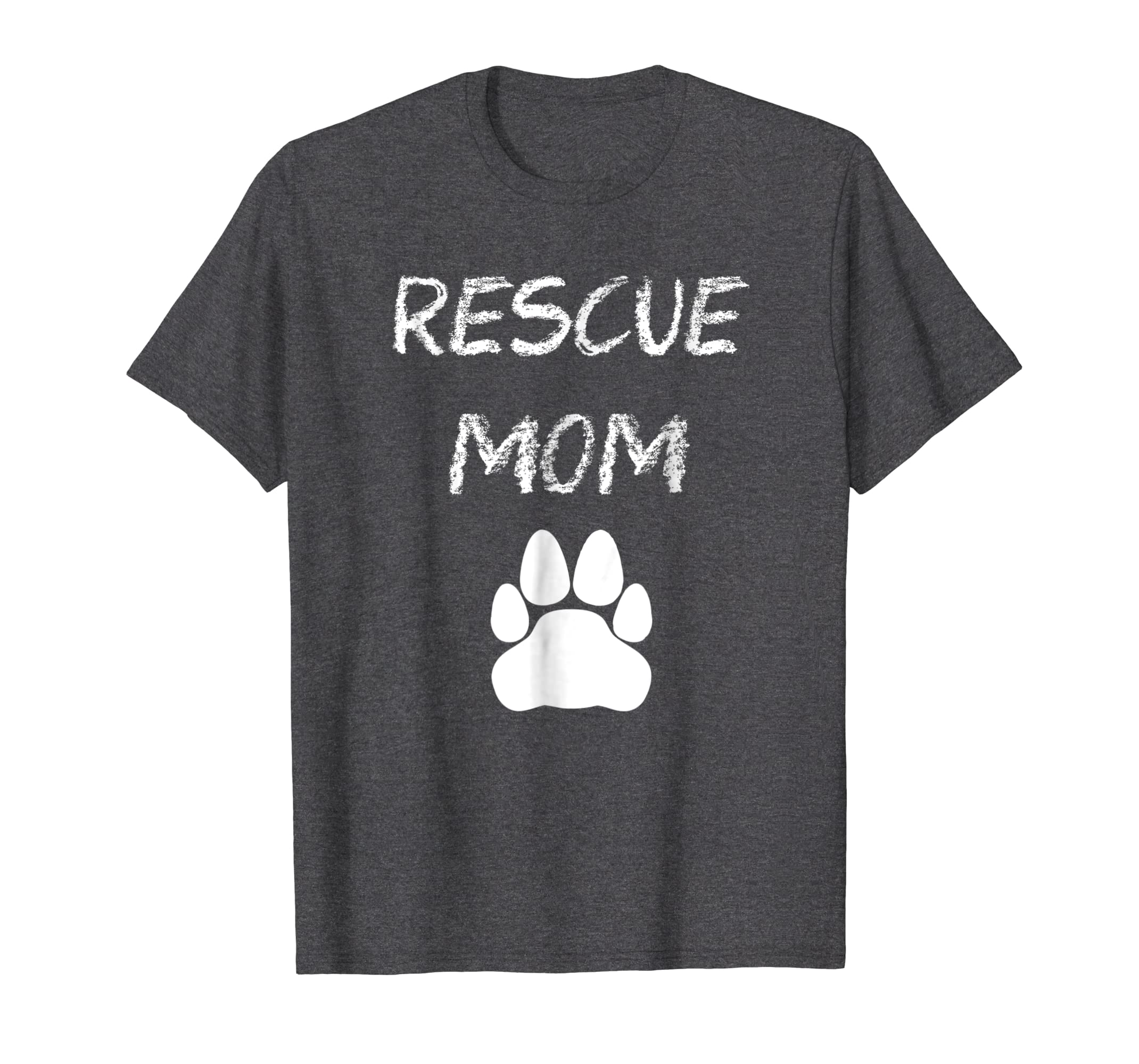 Animal Rescue Mom Cat Paw T-shirt-SFL