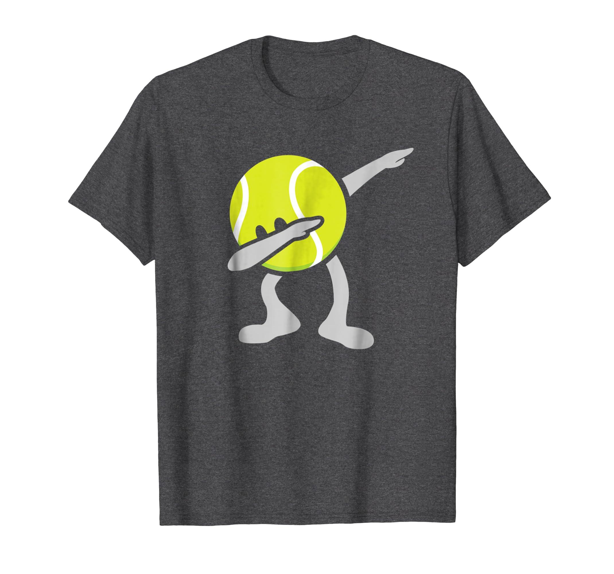 Funny Dabbing Tennis Ball T-Shirt-Awarplus
