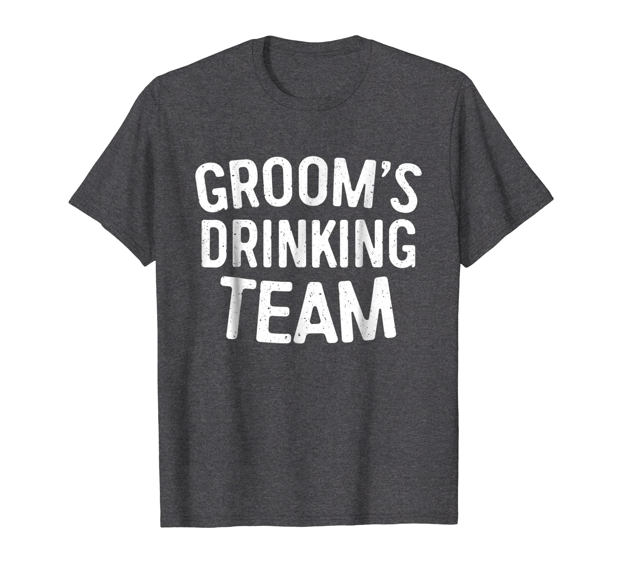 f2ba7679 Amazon.com: Mens Groom's Drinking Team T-Shirt Bachelor Party Gift: Clothing