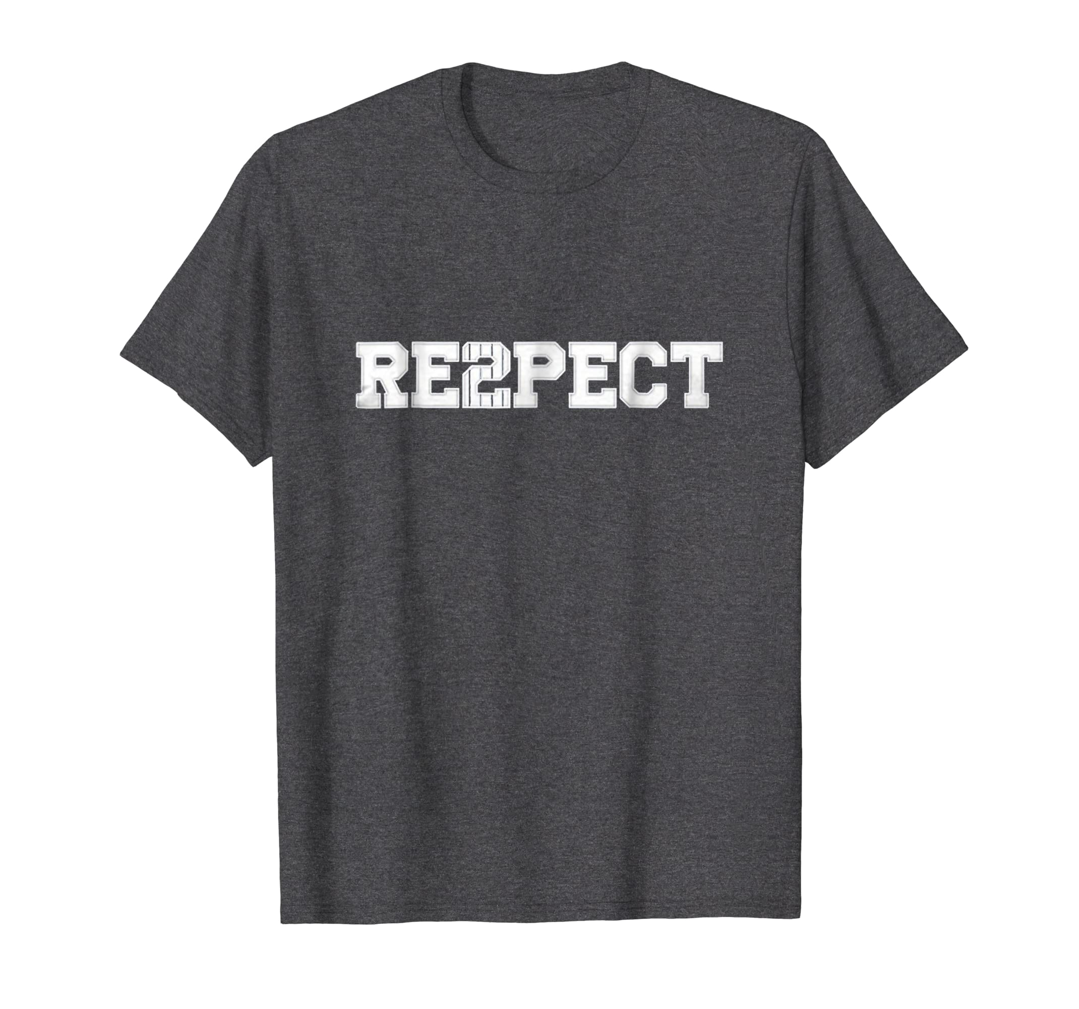 bbb7714ef020 Amazon.com  Re2pect T-Shirt Respect Derek Tee Shirt  Clothing