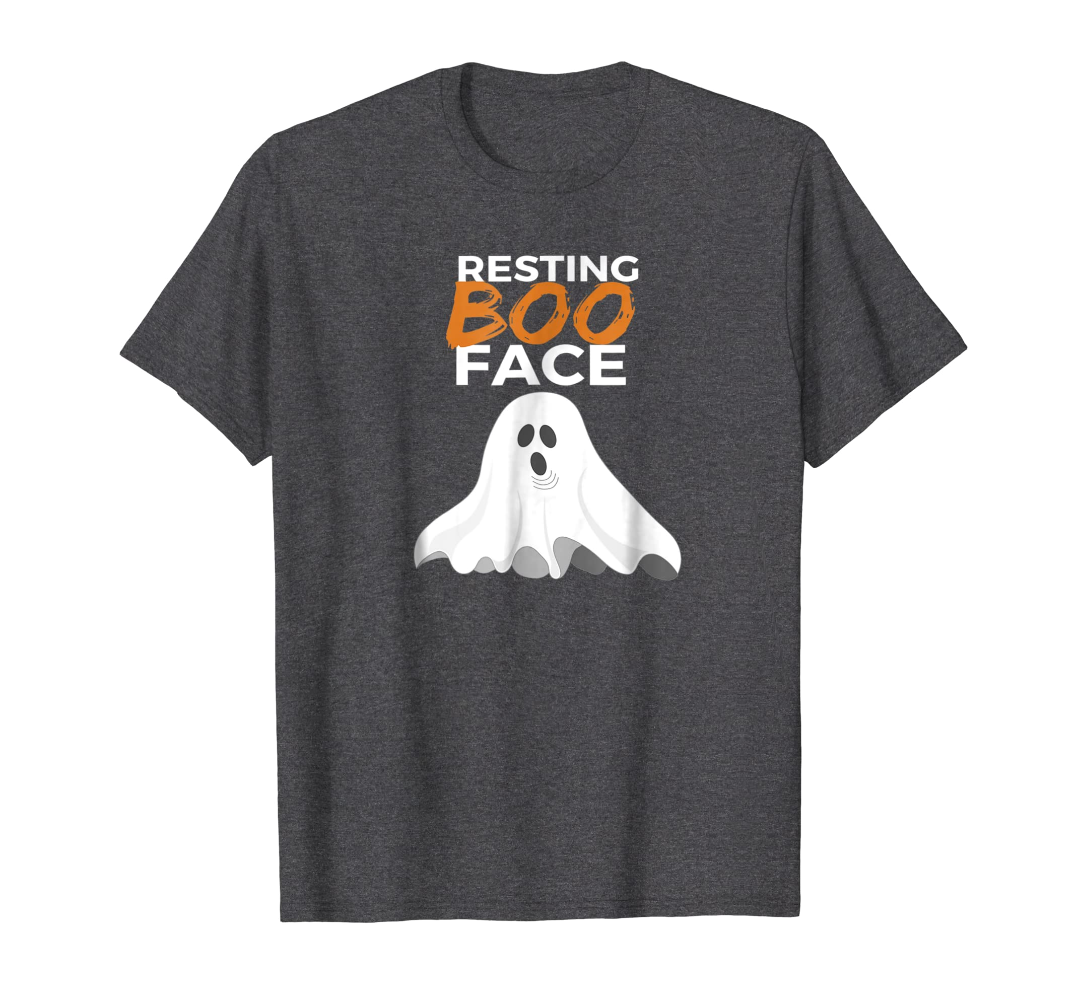 Halloween Ghost Resting Boo Face Boo T-shirt-mt