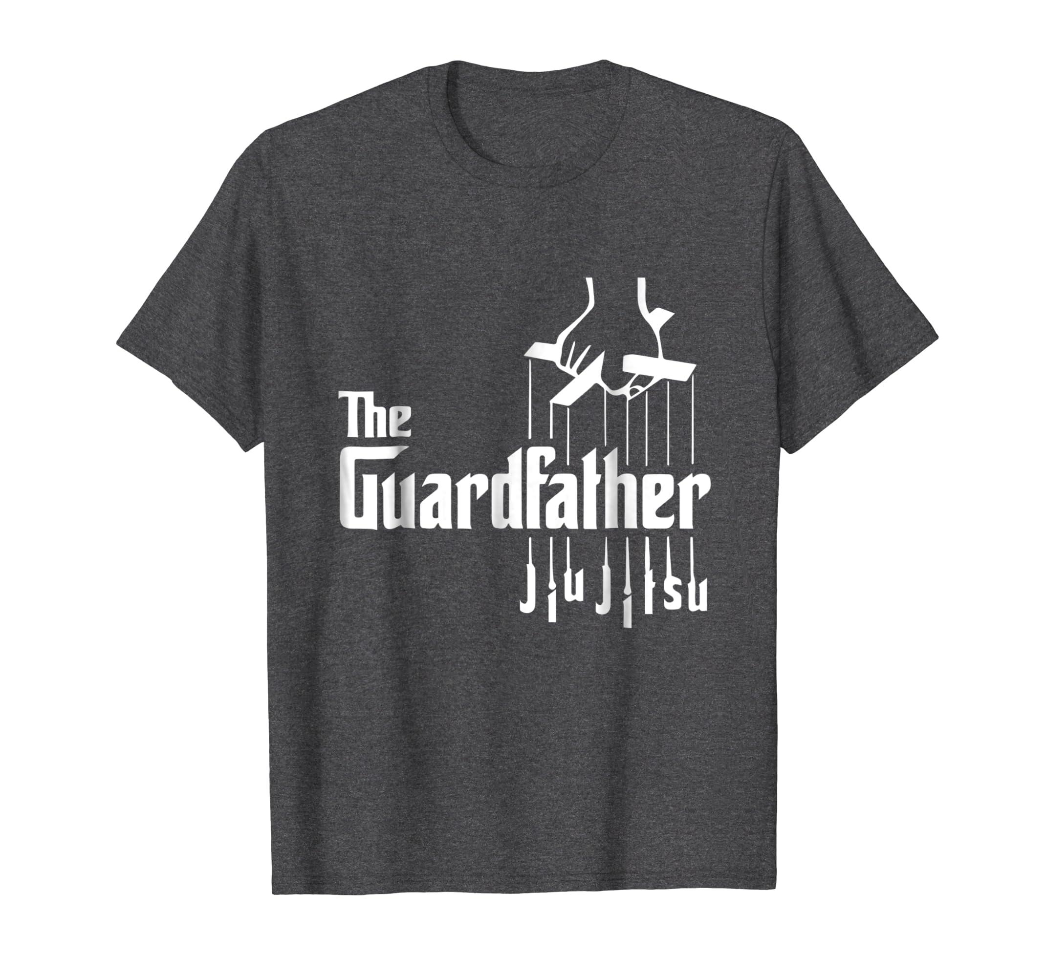 ed92482b Amazon.com: The Guardfather Funny Jiu Jitsu T-Shirt For Men & Boys: Clothing