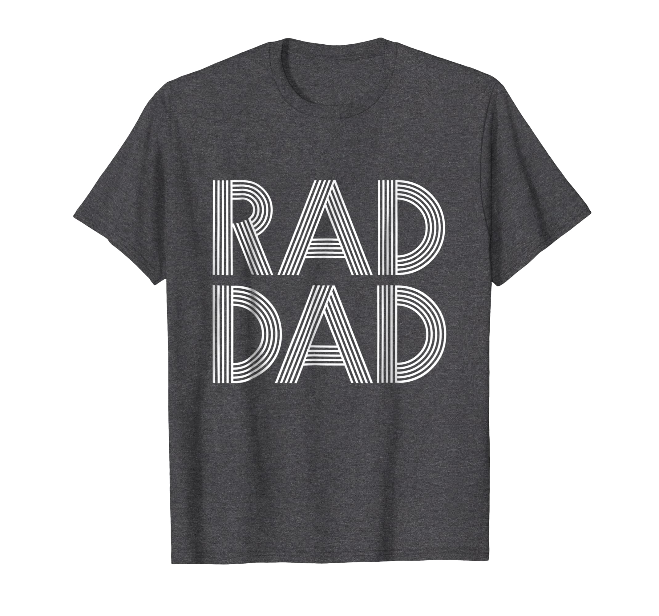 a585b4e45 Amazon.com: Mens Father's Day Gift T-Shirt | Rad Dad | Gift for Daddy:  Clothing