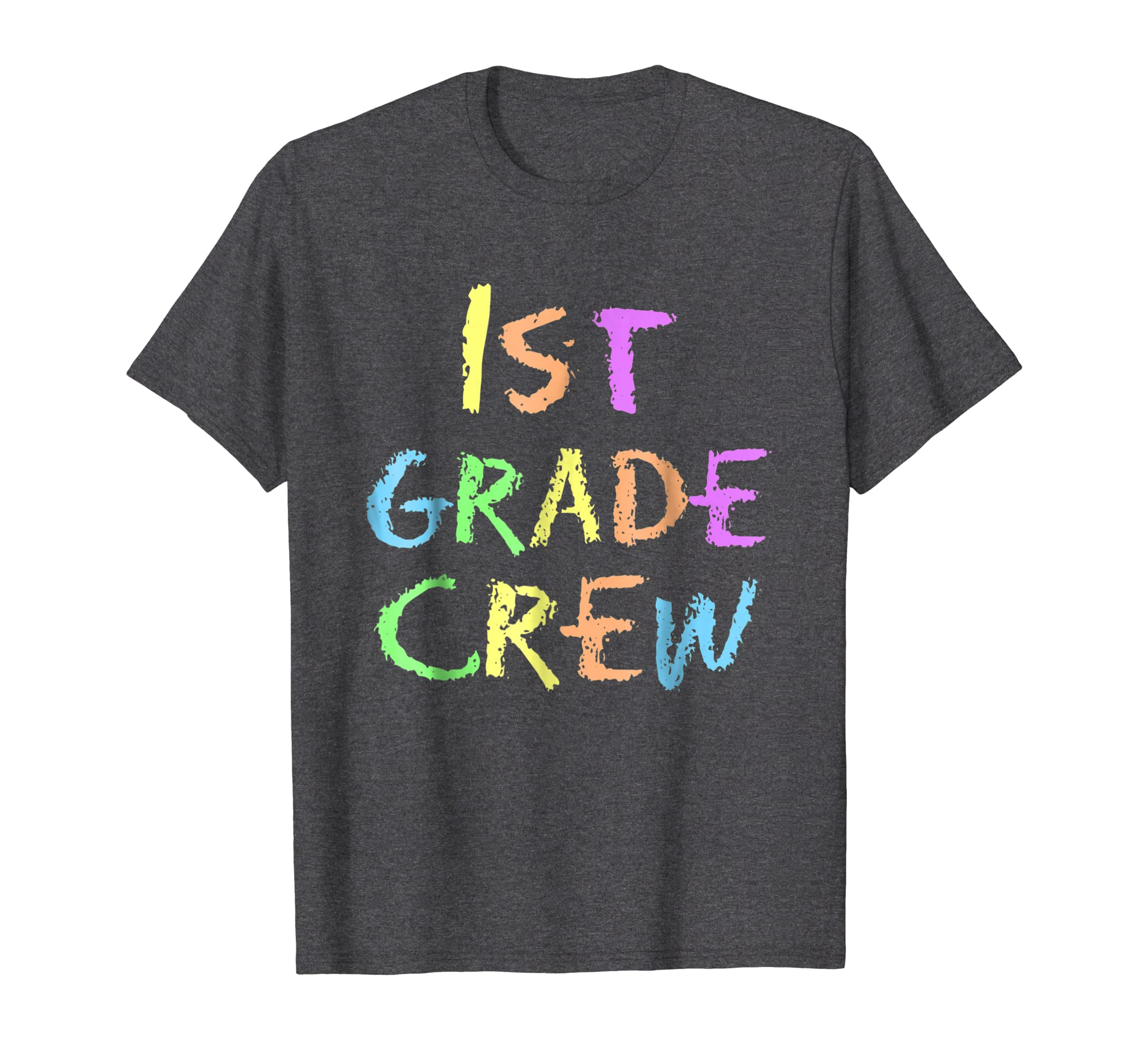 1st First Grade Crew Funny Back To School T Shirt