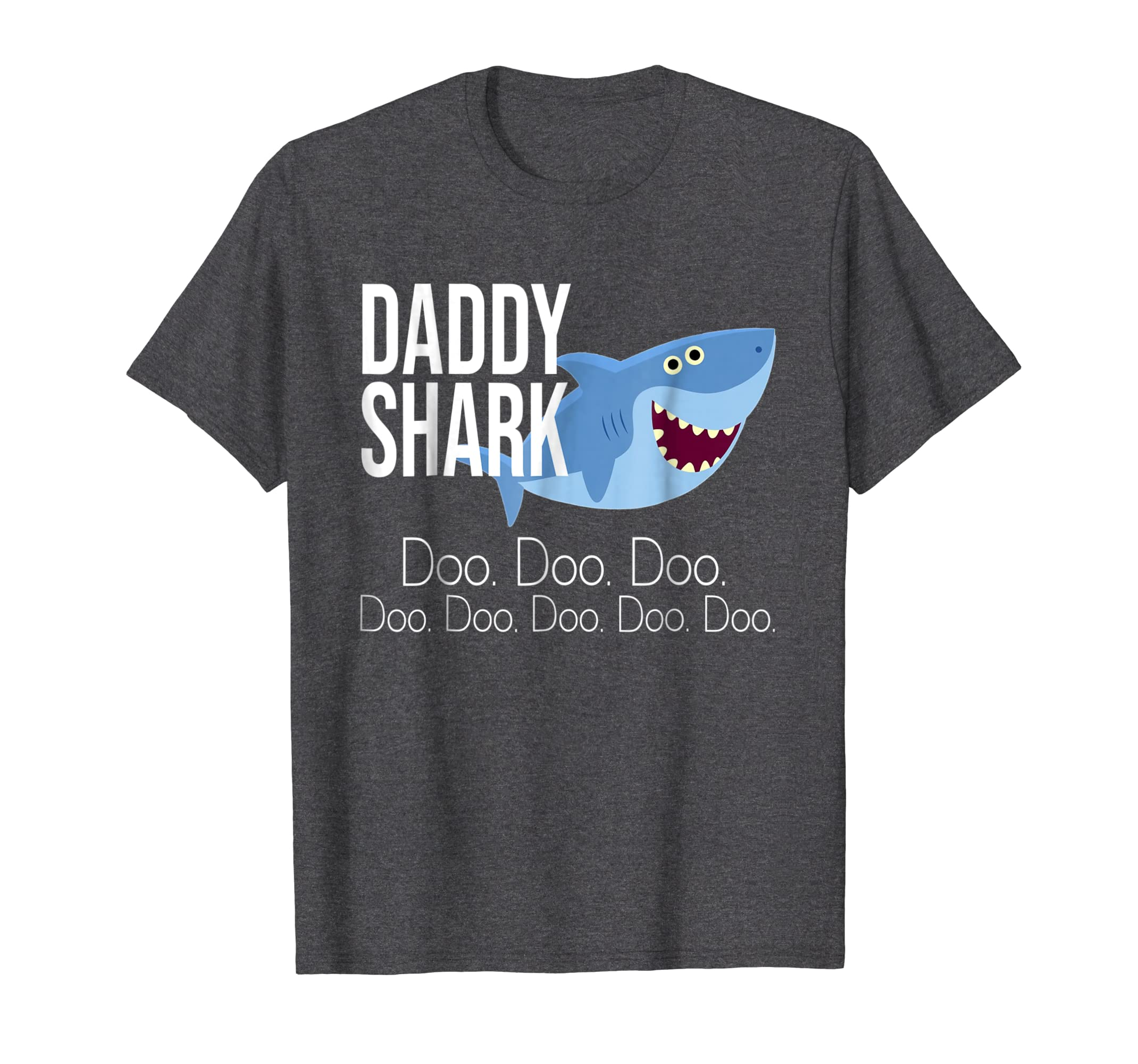 """Daddy Shark"" Baby Mommy Daddy Matching Family Shark T-Shirt-Awarplus"