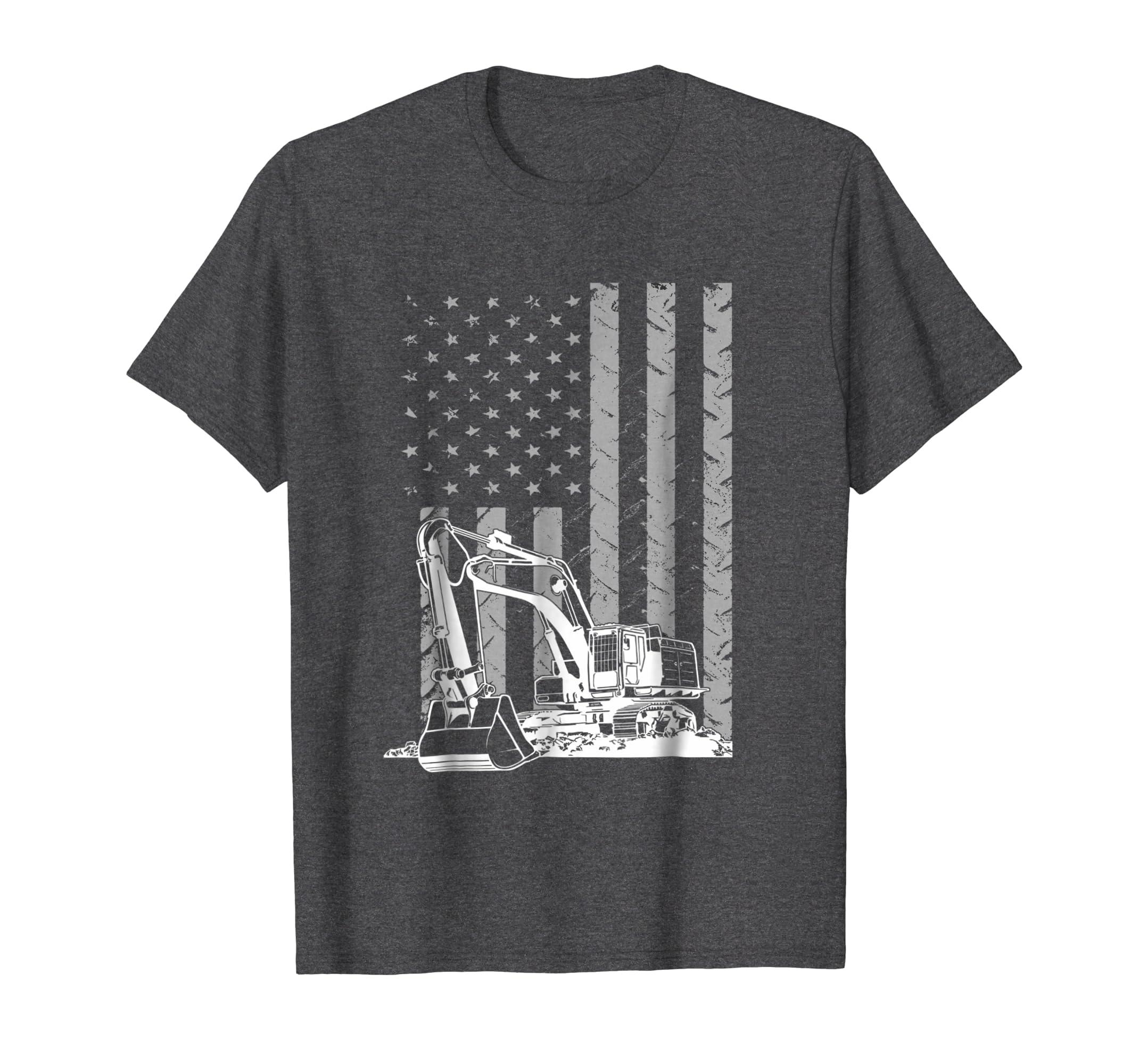 f3bf963d Amazon.com: Heavy Equipment Operator Funny T shirt: Clothing