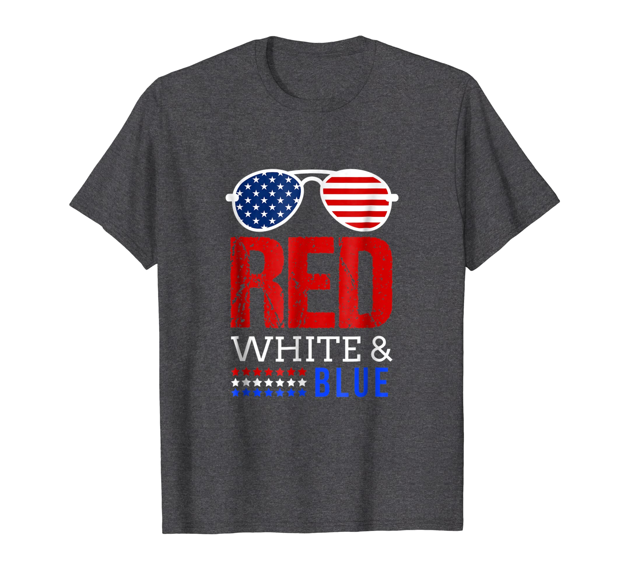 Red White And Blue 4Th Of July Sunglasses Tshirt