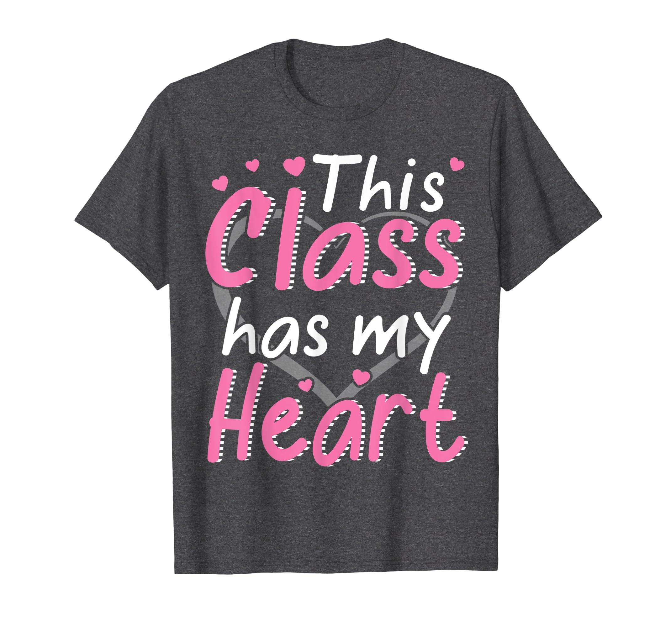 Amazon com: This Class Has My Heart Love School Happy