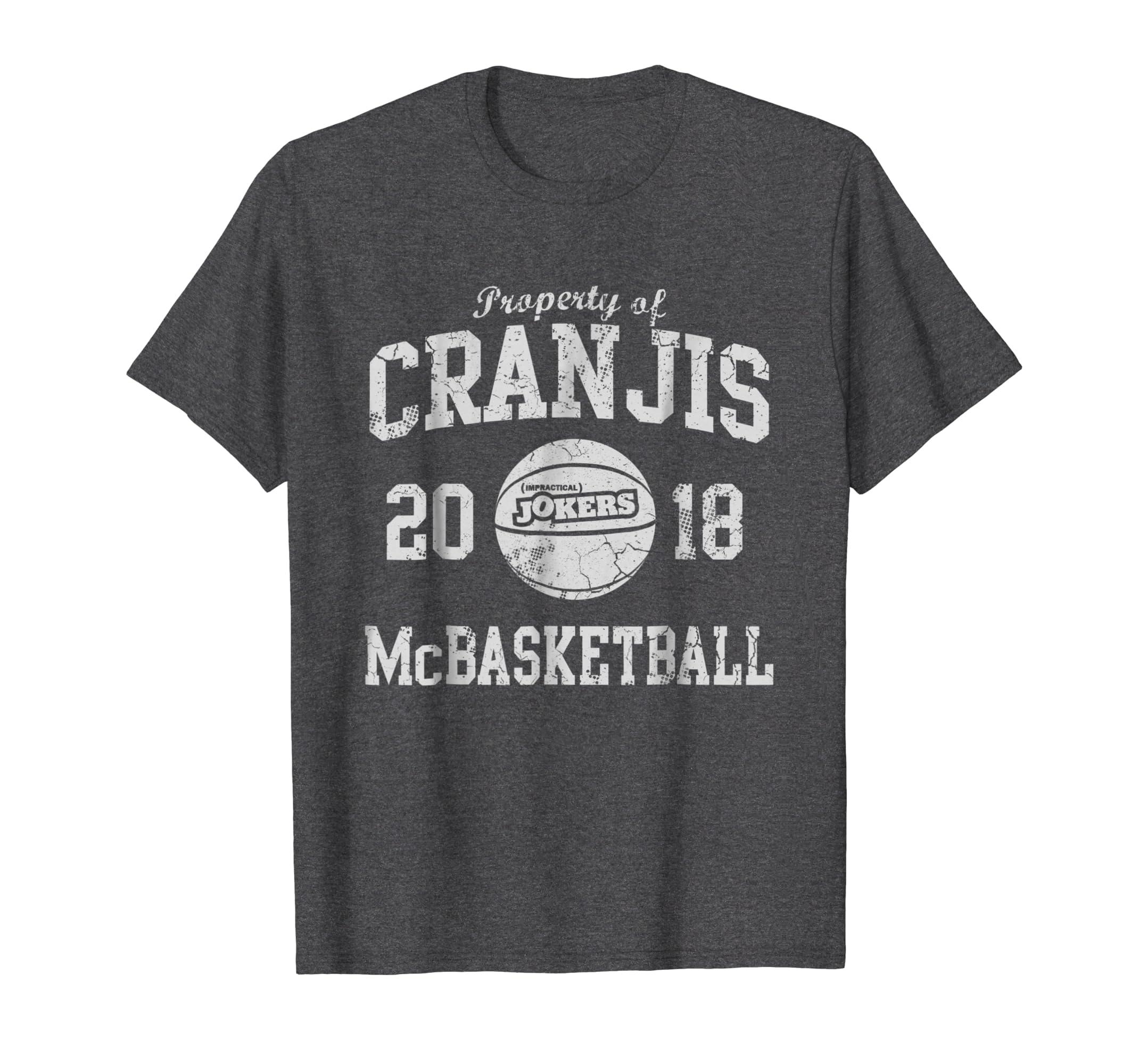 Cranjis McBasketball T Shirt-Awarplus