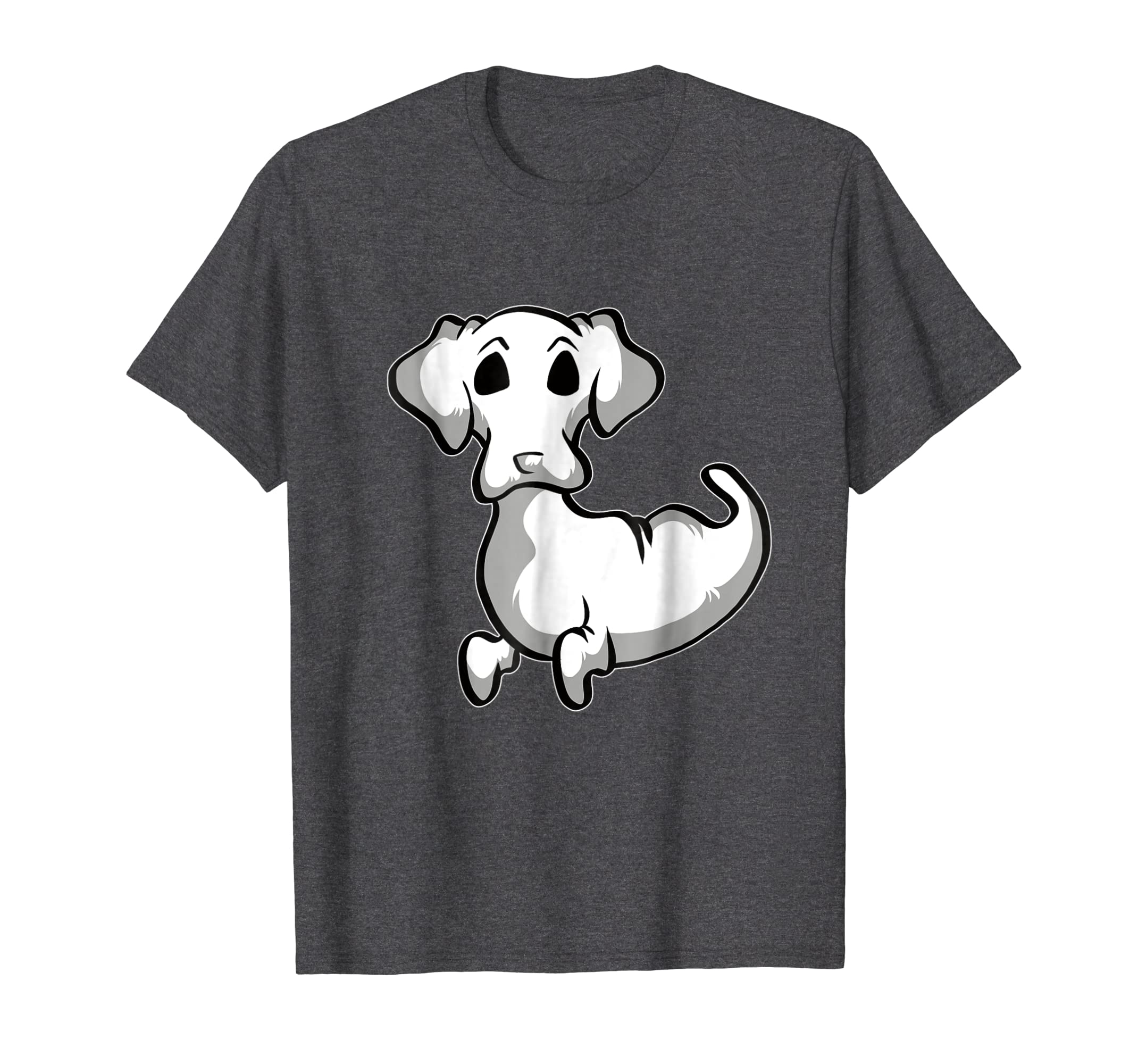 Funny Dachshund Ghost T Shirt Cute Ghost Halloween Shirt
