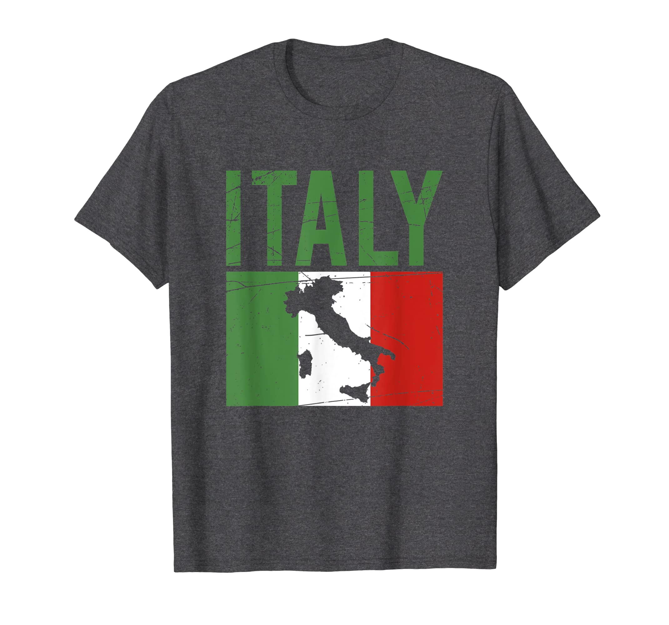 8b531c20586 Amazon.com: Italia Vacation Family Travel T-Shirt I Summer Tourist ...