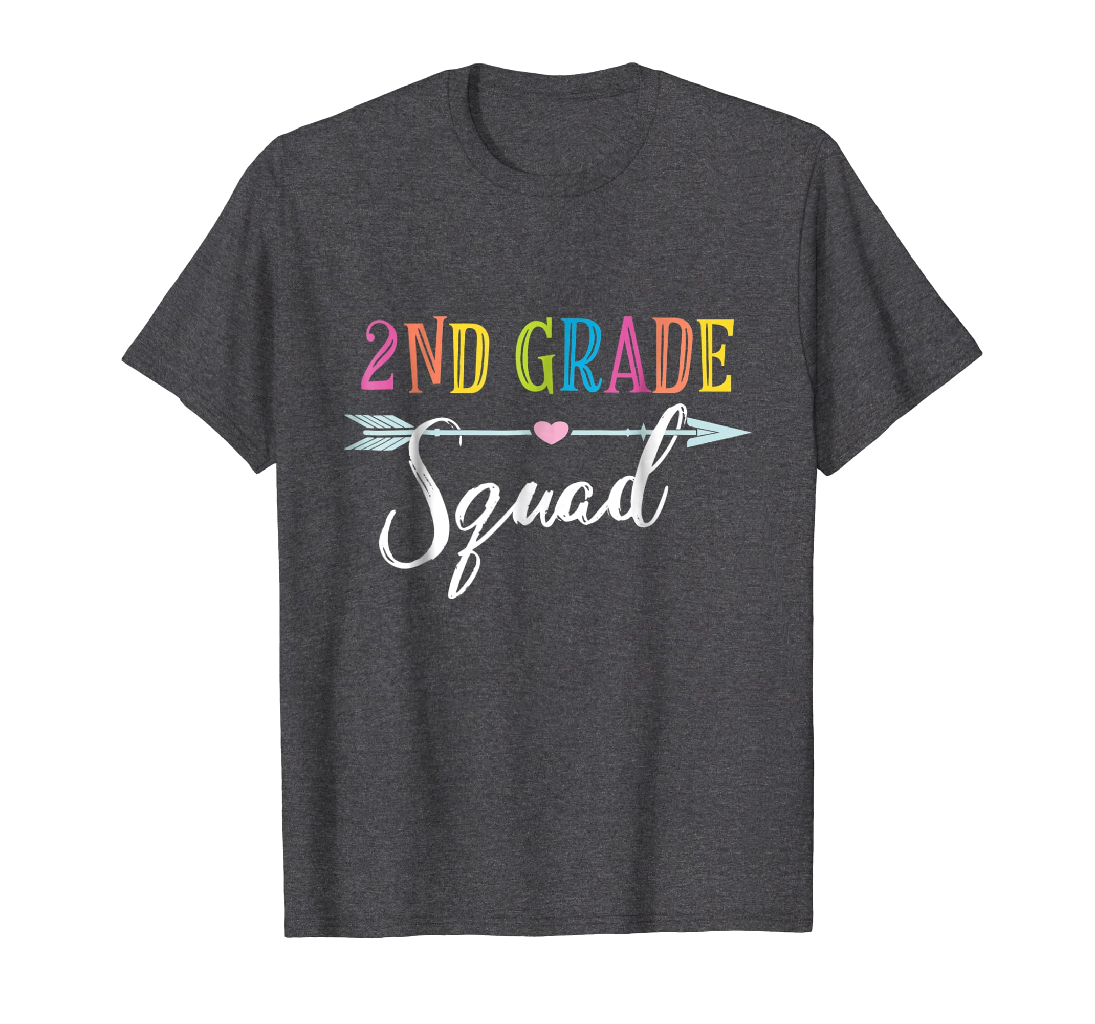 2nd Grade Squad  Second Grade Shirt For Kids & Teachers-Awarplus
