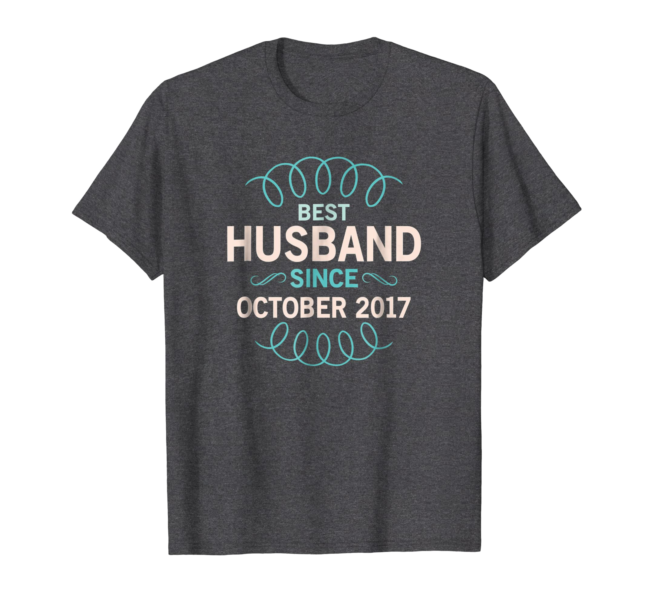 1st Wedding Anniversary   Husband Since October 2017 Shirt