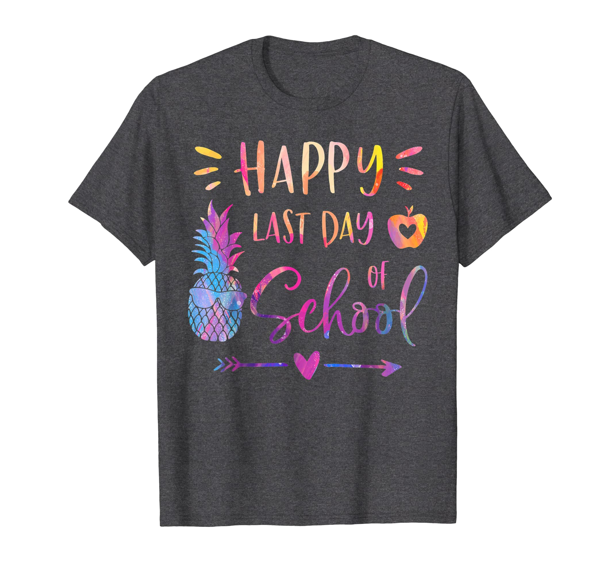 Teacher Shirts, Happy Last Day Of School Shirt,Teacher Gifts T-Shirt-Protee