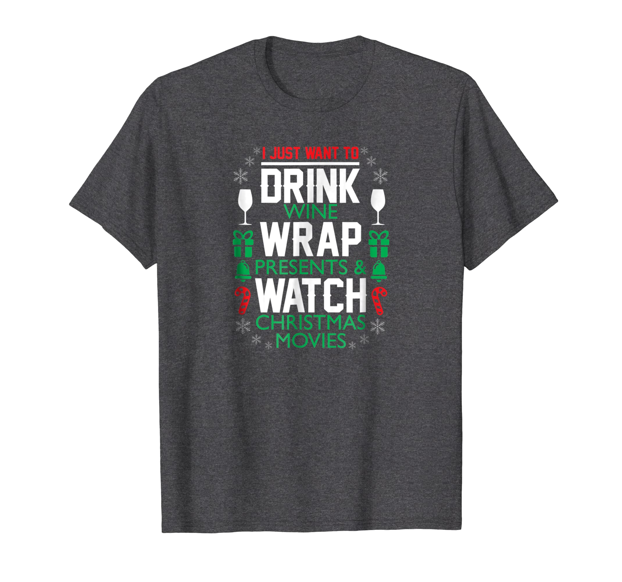 4f167e924 Amazon.com: Funny Wine Tshirt for Women Christmas Shirt for Wine Lovers:  Clothing