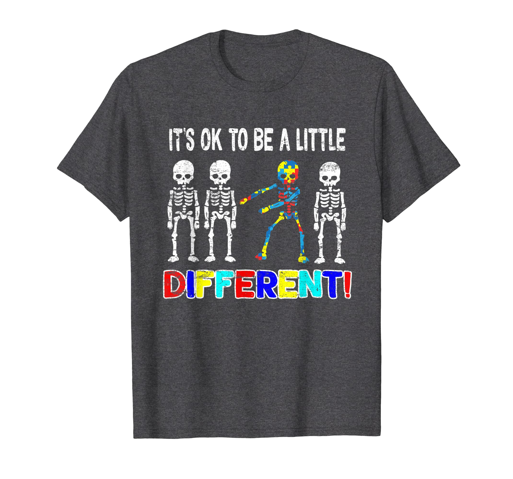 543f3cf0 Autism Skeleton Flossing Tshirt Gift Floss Little Different: Amazon.co.uk:  Clothing