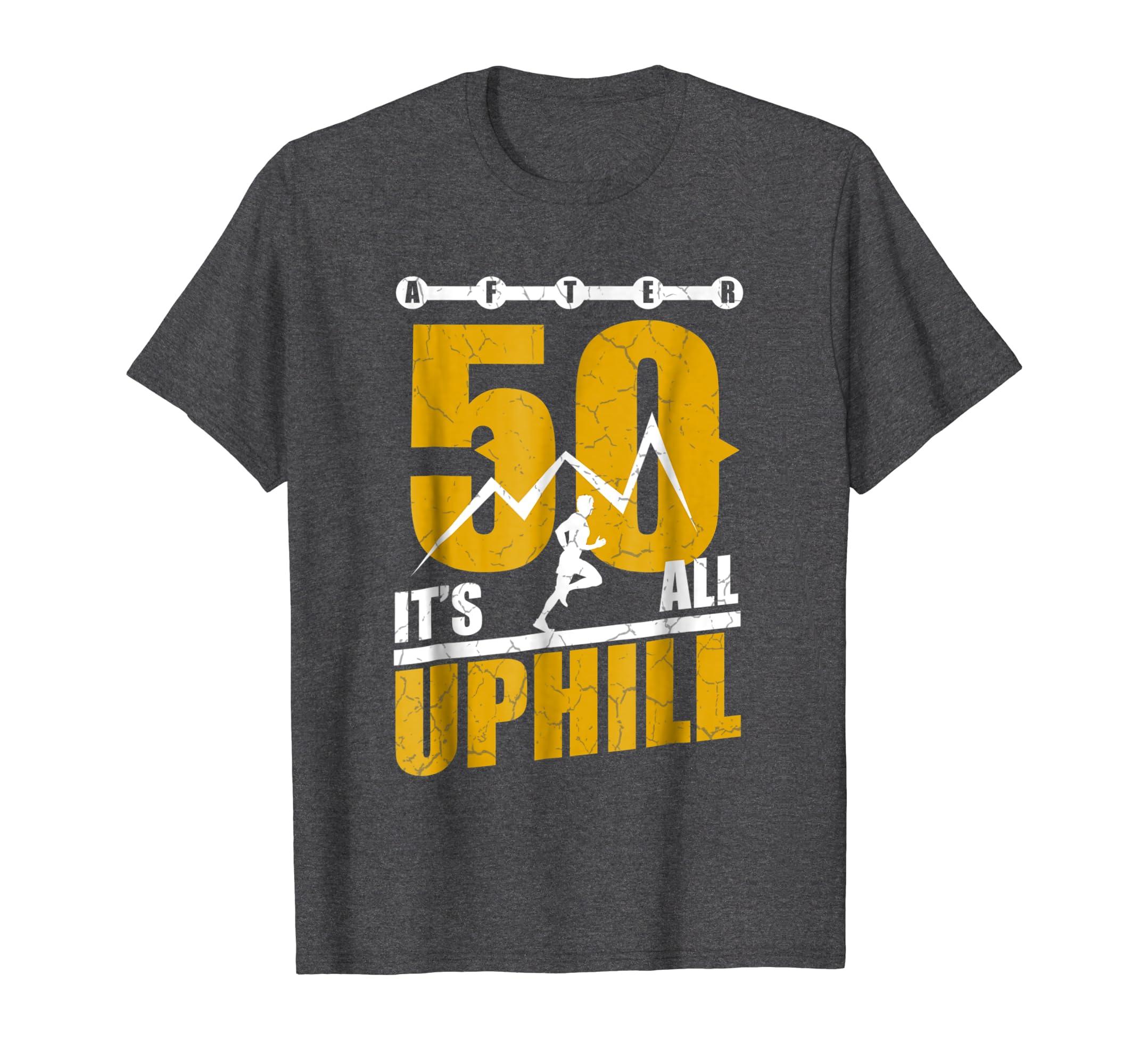 Amazon Funny Running T Shirt 50 Years Old 50th Birthday Gift Tee Clothing