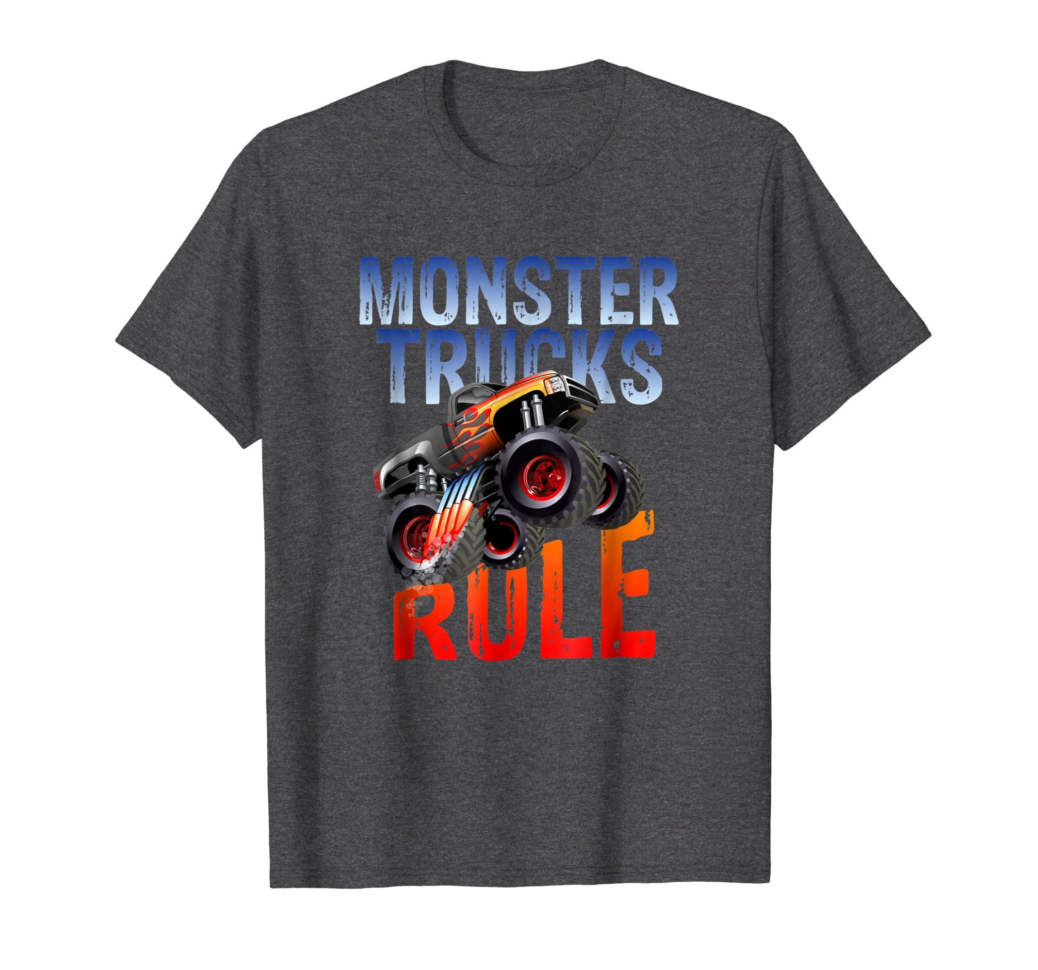 Monster Truck Rule JAM T shirt-Bawle