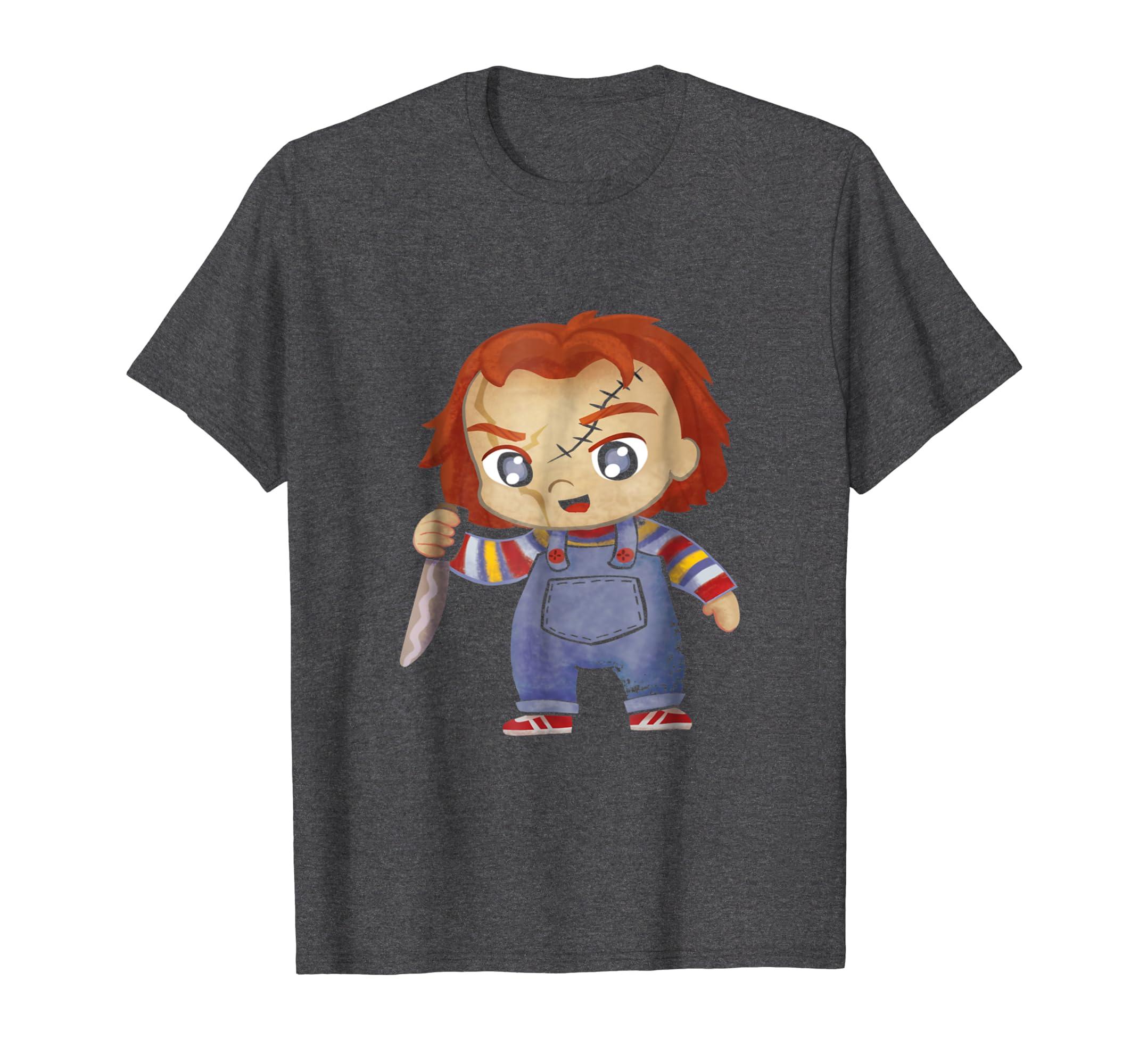 f5760a733 HC Chucky Childs Play Halloween costume t shirt-Colonhue – Colonhue.com