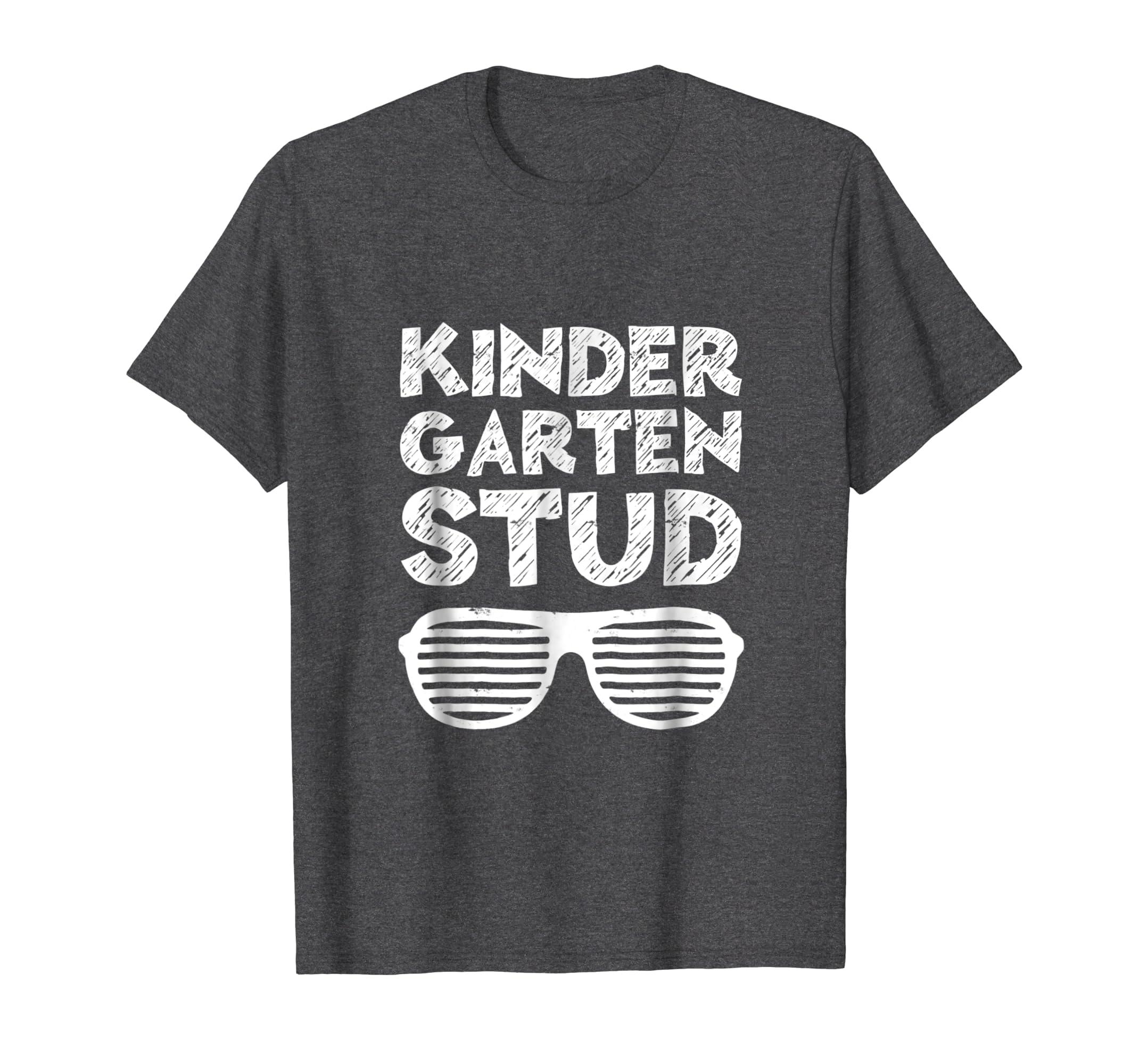 Kids Kindergarten Stud T-Shirt Funny Back To School Gift-Awarplus