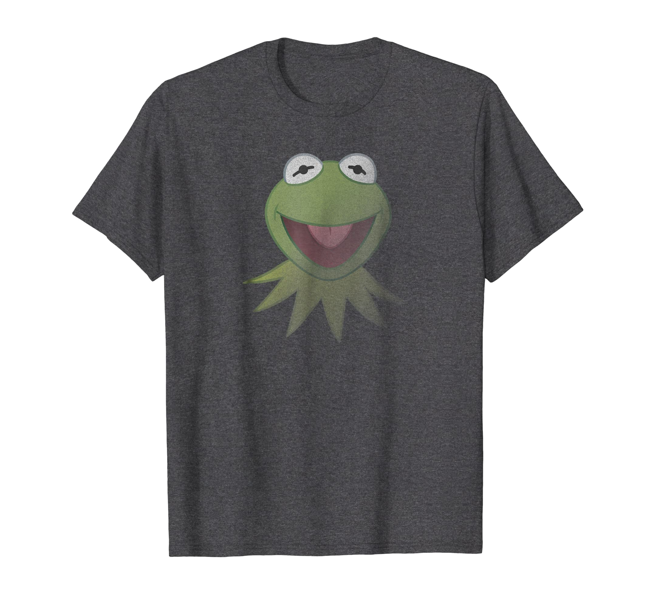 c90bfbaa Amazon.com: Disney Muppets Kermit the Frog Face T-Shirt: Clothing