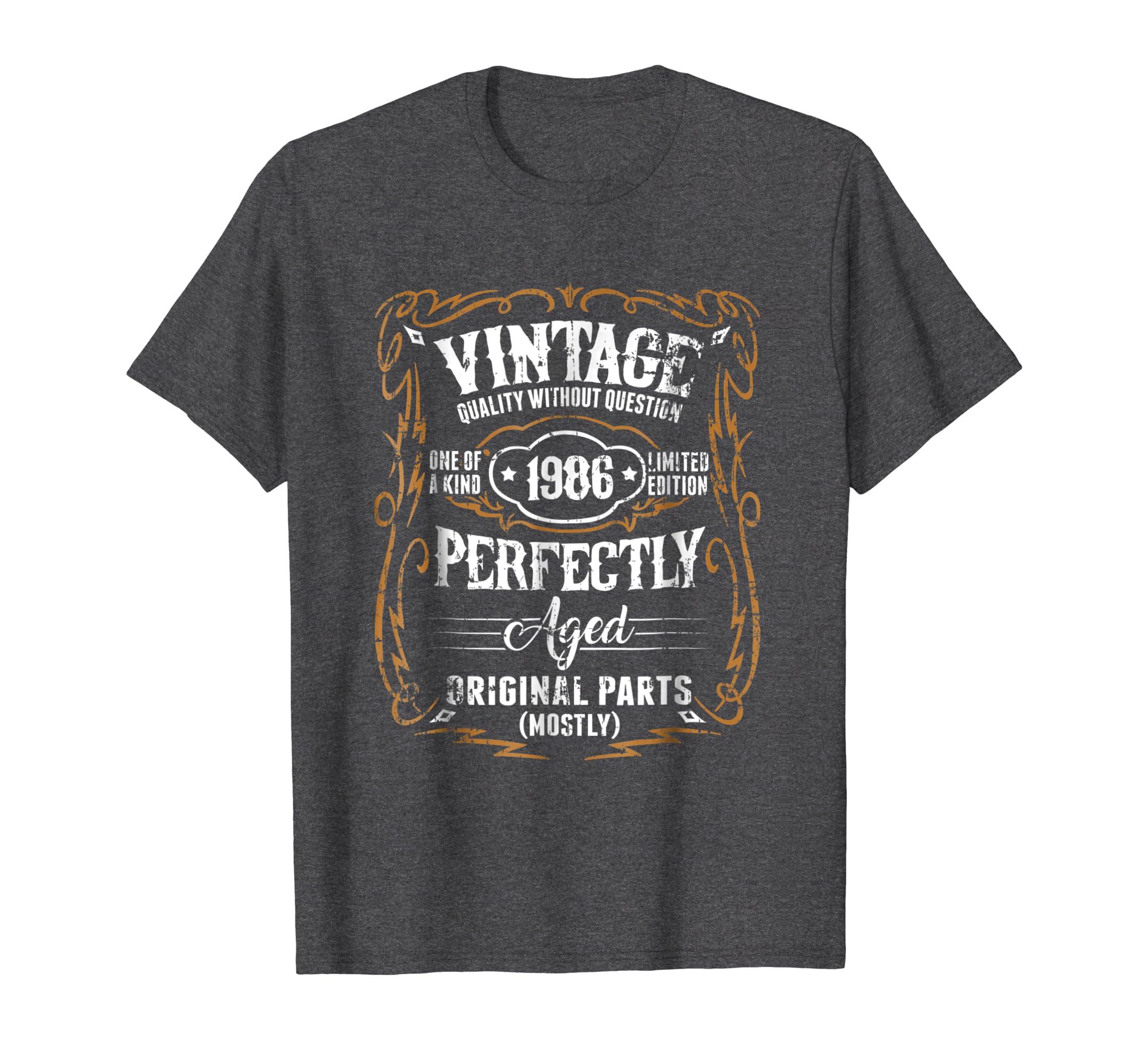 1986 Vintage Funny 32th Birthday Gift T Shirt