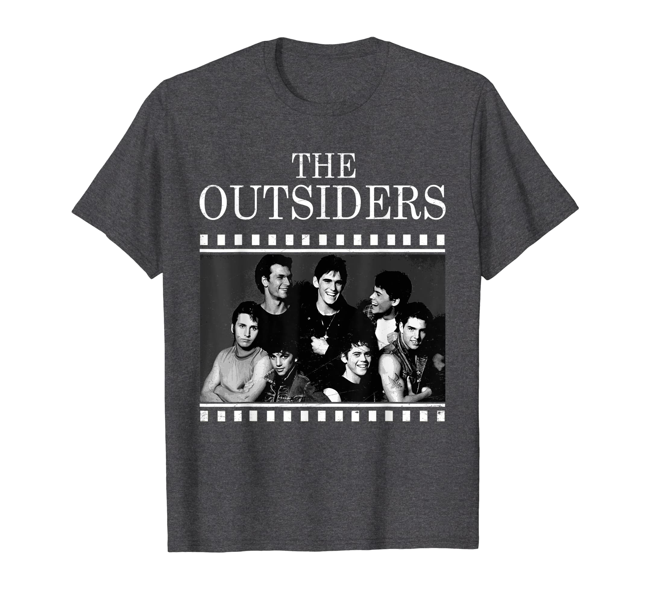 The Outsiders Vintage Filming 80's Drama Movie Pony T-shirt-Protee