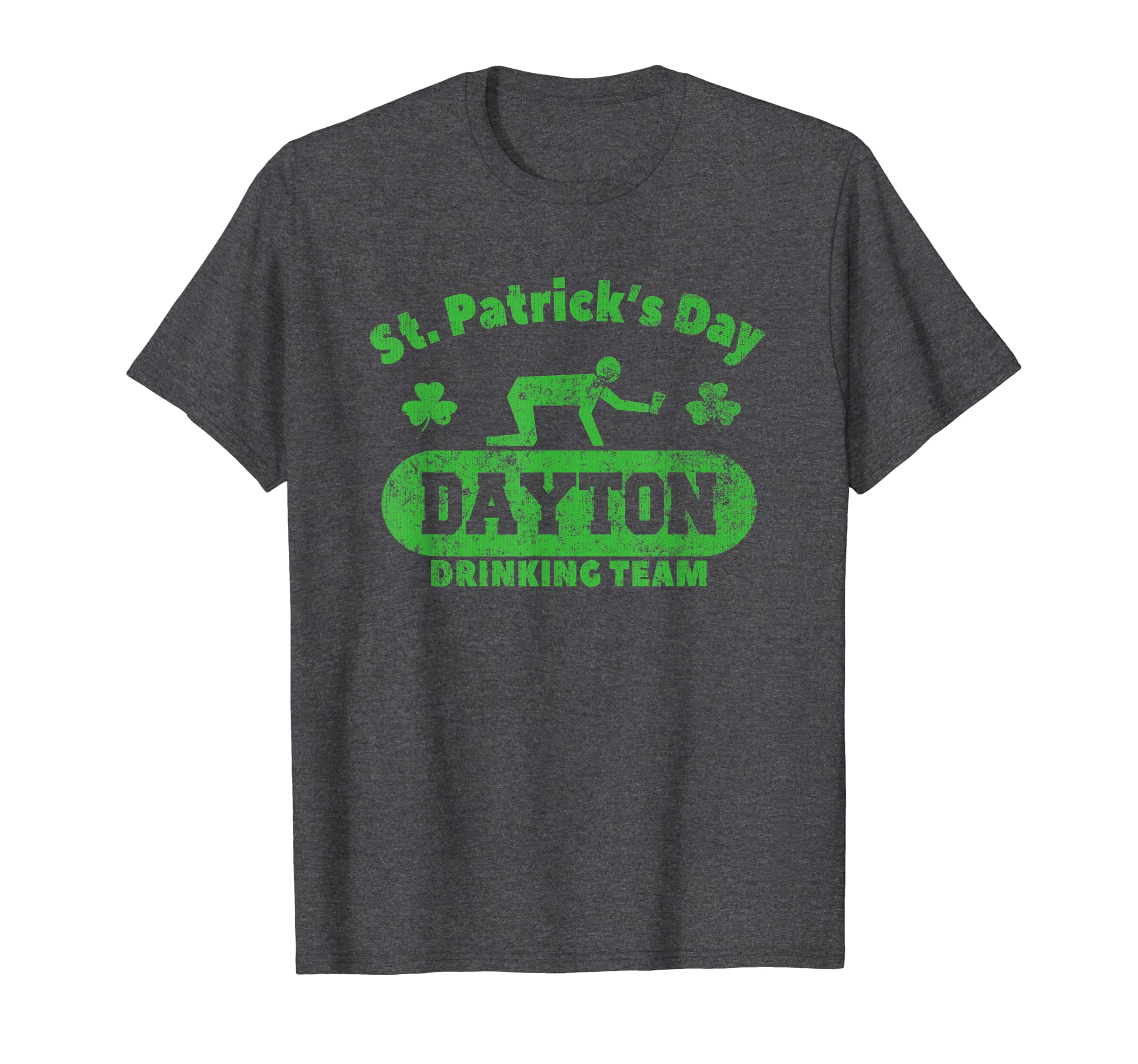 Amazon Com Funny St Patrick S Day Dayton Drinking Team T